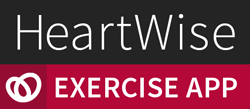 HeartWise Exercise App logo