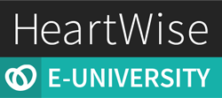 HeartWise E-University logo